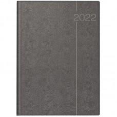 Щоденник 2022 Euro А4 сірий