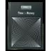 Книга канцелярська TIME IS MONEY, А4, 96 арк., клітинка, офсет, тверда ламінована обкладинка, сіра