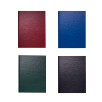 Книга канцелярська OFFICE, А4, 192 арк., лінія, офсет, тверда обкладинка з бумвінілом, асорті