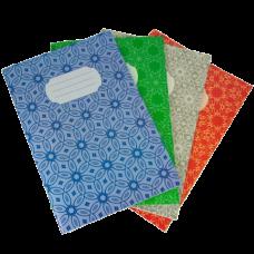 Зошит канцелярський, JOBMAX, А4, 48 арк., клітинка, картонна обкладинка, асорті