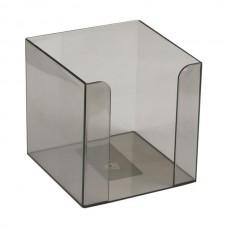 Куб для паперу 90x90x90 мм, димчатий
