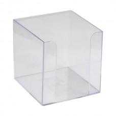 Куб для паперу 90x90x90 мм, прозорий