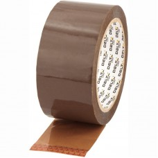 Стрічка клейка пакувальна 48мм*100ярд, 40мкм корич