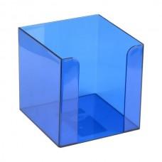 Куб для паперу 90x90x90 мм, синій