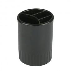 Стакан-підставка на 4 відділення, чорна