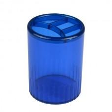 Стакан-підставка на 4 відділення, синя