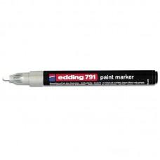 Маркер Paint e-791 1-2 мм круглий білий