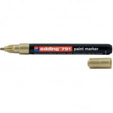 Маркер Paint e-791 1-2 мм круглий золотий