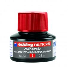 Чорнило для заправки Board e-BTK25 червоне