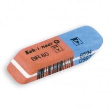 Гумка комбінована BlueStar, 6521/80 (полібег 2 шт)