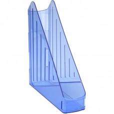 Лоток вертикальний, прозорий синій