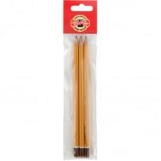 Олівець графіт.1500, HB(п-г 3 шт)