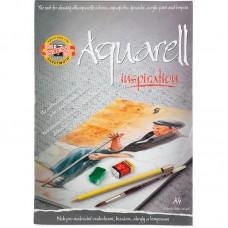Альбом для акварелі, 20 арк., A4, 320 г/м2 (ескіз)