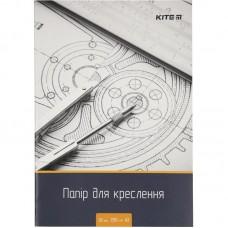 Папір для креслення А3, 10 аркушів, 200г/м2
