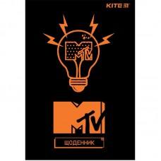 Щоденник шкільний, м'яка обкл. PU, MTV