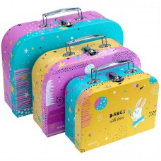 Набір валіз 3 шт.(SML), картон, Magic Bunny